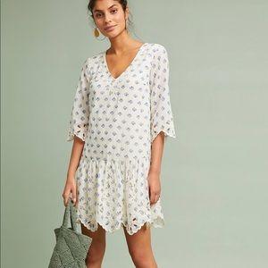Anthropologie Dresses - Anthropologie Eyelet Tunic Dress